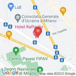 Map BEST WESTERN HOTEL MIRAGE