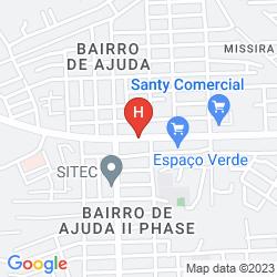Map LISBOA BISSAU