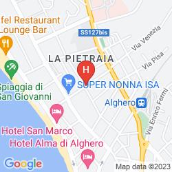 Map HOTEL RINA
