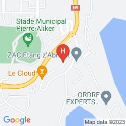 Map CENTRE INTERNATIONAL DE SÉJOUR - HOSTEL
