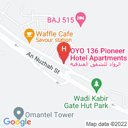 Map PIONEER HOTEL APARTMENTS