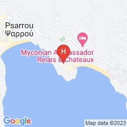 Map PETASOS BEACH RESORT & SPA