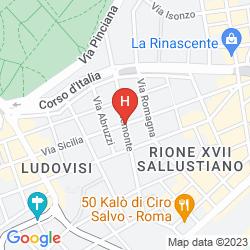 Map ALPHA VIA VENETO