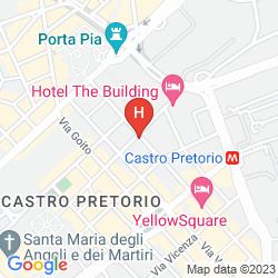 Map BEST WESTERN ART DECO