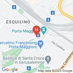 Map SHG HOTEL PORTA MAGGIORE