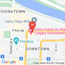 Map DELTA CALGARY DOWNTOWN