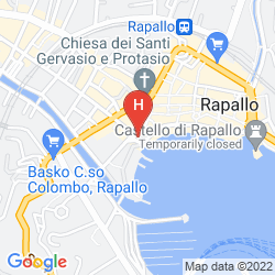 Map BEST WESTERN PLUS TIGULLIO ROYAL