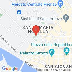 Map SANTA MARIA NOVELLA