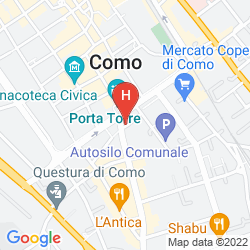 Map LE DUE CORTI