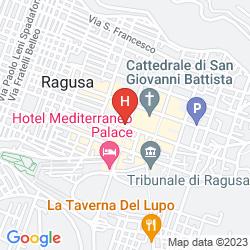 Map MEDITERRANEO PALACE