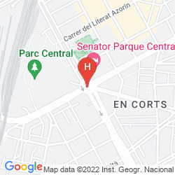 Map SENATOR PARQUE CENTRAL