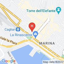 Map CHAMBRES DU MONDE - AFFITACAMERE