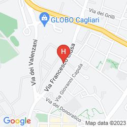 Map LE SUITE AIOSARDEGNA CAGLIARI