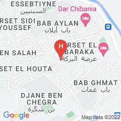 Map BELLAMANE RYAD & SPA - ADULTS ONLY
