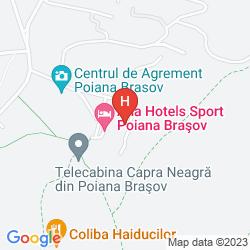 Map ANA HOTELS SPORT POIANA BRASOV