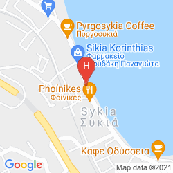 Map SIKYON COAST HOTEL & RESORT