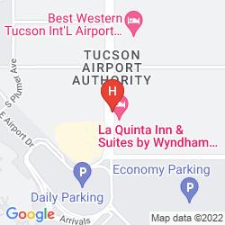 Map LA QUINTA TUCSON AIRPORT