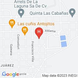 Map FIESTA INN CIUDAD JUAREZ