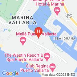 Map VAMAR VALLARTA MARINA & BEACH RESORT