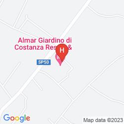 Map GIARDINO DI COSTANZA