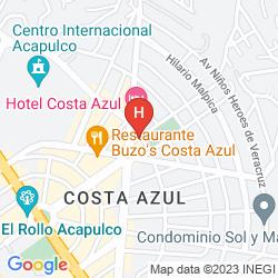 Map COSTA AZUL