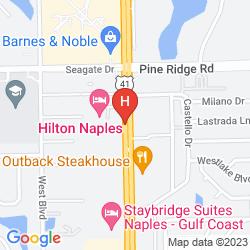 Map HILTON NAPLES