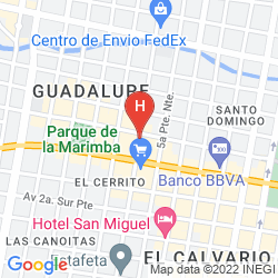 Map MADRID TUXTLA