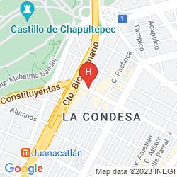 Map STAYINN BAREFOOT CONDESA