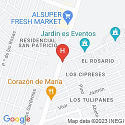 Map DEPARTAMENTOS LOFT 77
