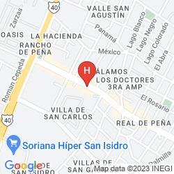 Map VILLAS DEL PORTAL