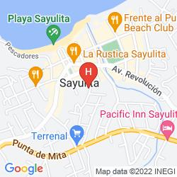 Map VILLAS VISTA SUITES
