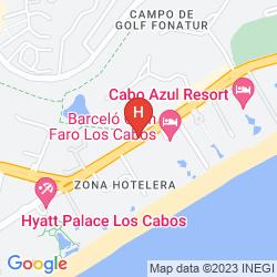 Map MAR ADENTRO CABOS