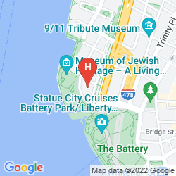 Map THE WAGNER AT THE BATTERY