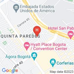 Map COLOMBIANS SUITE INTERNATIONAL