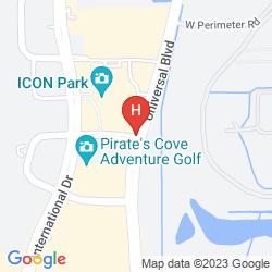 Map RESIDENCE INN ORLANDO CONVENTION CENTER