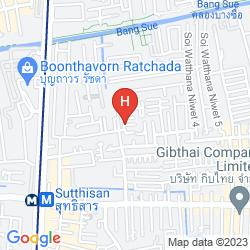 Map MOMENTS IN BANGKOK HOSTEL