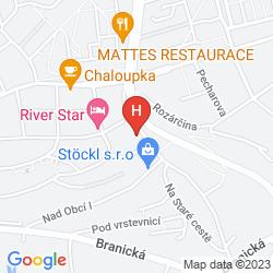 Map VILLA NA VINICI