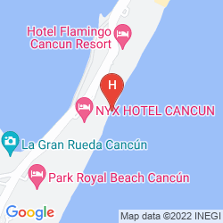 Map AVALON BACCARA RESORT