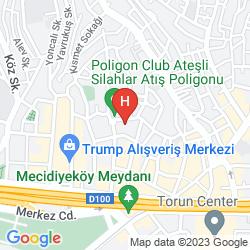 Map MOLTON MONAPART MECIDIYEKOY