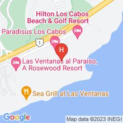 Map MELIA CABO REAL BEACH & GOLF RESORT