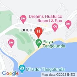 Map BARCELO HUATULCO