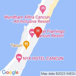 Map NYX CANCUN