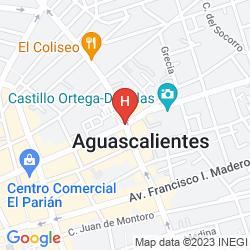 Map BARCELO AGUASCALIENTES