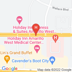 Map HOME2 SUITES BY HILTON AMARILLO