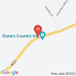 Map SLATERS COUNTRY INN
