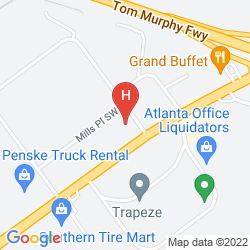 Map RED ROOF INN ATLANTA SIX FLAGS 793 HOTEL