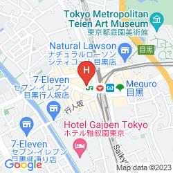 Map ABEST MEGURO