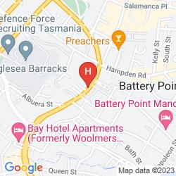 Map GATTONSIDE HERITAGE ACCOMMODATION