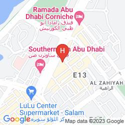 Map JANNAH BURJ AL SARAB