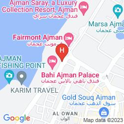 Map FAIRMONT AJMAN